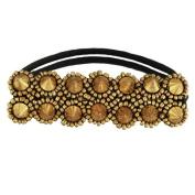 Tassel Melrose Hair Tie, Gold