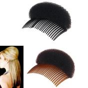 Blovess Pack of 2 Women Lady Girl Hair Styling Clip Stick Bun Maker Braid Tool Hair Accessories