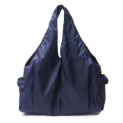 Wrapables Carry-All Tote Nappy Bag, Navy