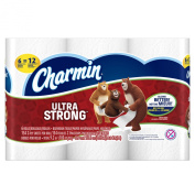 Charmin Ultra Strong Toilet Paper, Double Roll, 6 Count