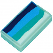 TAG Face Paint1-Stroke Split Cake - Ocean