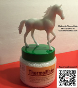Thermomake - Nontoxic, Biodegradable, Reusable and Easy-to-use Moldable Plastic, for Crafts, Arts, Cosplay, Prototypes, Repairs, Modelling, Hobbies, Toys, DIY Projects. 350ml Remodables Thermoplastic