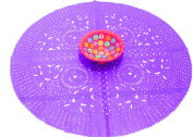 Purple Wedding Decoration, Purple Centrepiece Doily, Paper Doily, Mexican Papel Picado, Fiesta Party, Mexican Style Ceremony, Tissue Paper, Hand-crafted, Birthday Party Kids