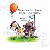 Stamping Bella Cling Stamp 17cm x 11cm -The Stuffie Gang