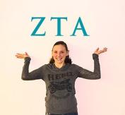 Zeta Tau Alpha Jumbo Letter Decals