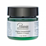 Highly Concentrated Vitamin C Cream with Ester C for Face Skin Minimises Dark Spots and Works As Moisturiser Lotion Too - 30ml 1oz