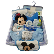 COMPLETE BOY NEW BORN GIFT BASKET