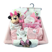 COMPLETE GIRL NEW BORN GIFT BASKET