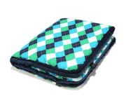 La Millou - aBaby - Toddler Blanket with filling - Cotton - Minky (110cm x 140cm )