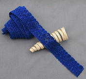 10 Yards Royal Blue 2.5cm Elastic Lace Stretch Lace Elastic Lace Trim Elastic Headband Bridal Garter Baby Hairbow Ties EL043