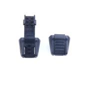 30pcs Zipper Pull Cord Ends Black