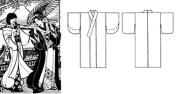 Folkwear Japanese Kimono #113 Sewing Pattern