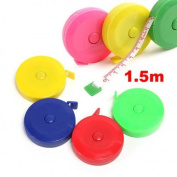 Joinwin® Pack of 10 Random Colour!! New Retractable Ruler Tape Measure 150cm Sewing Cloth Dieting Tailor 1.5M