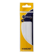 White Hemming Tape 4.5m Easy Iron On For Turning Up Trouser Skirt Hems Etc