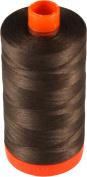 Aurifil Cotton Mako 50wt Medium Bark Brown Thread Large Spool 1421 yard MK50 1285