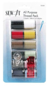 Birch 053301 | Polyester Sew It Basic Shades Sewing Thread | 2286cm x 12 Reels