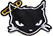 Cat Kitty Kitten Pet Animal Kid Jacket T-shirt Patch Sew Iron on Embroidered Applique Sign Badge Costume Gift by PANICHA