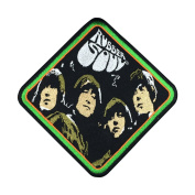The Beatles Band Patch Embroidered Music Iron on Patch Punk Patches