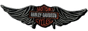 Harley Da Vidson Motor Cycle Wing - By Patch Squad
