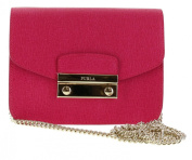 Furla B30 Julia Saffiano Leather Crossbody Shoulder Bag Purse in Gloss