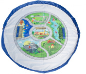 EZY Tidy Bag Town Map Toy Storage Organiser and Play Mat