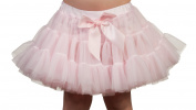Laura Dare Baby Girls Solid Colour Petti Skirt Tutu With Built-In Panties
