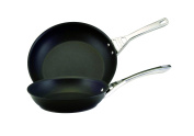 Circulon Infinite Skillet Omelette Pan Twin Pack, 25cm /30cm , Black