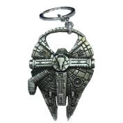 Zs Star Wars Millenium Falcon Metal Bottle Opener & Key Chain Zinc Alloy - Non-magnetic Opener 7.1cm