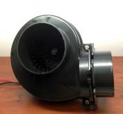 MARINE GRADE PLASTIC BILGE BLOWER 2.8cbm/Min 12VDC 7.6cm OPENING FLANGE MOUNT