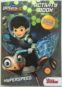 Disney Junior Miles from Tomorrowland Hyperspeed Colouring and Activity Book - Includes Stickers