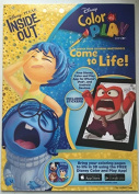 Disney Pixar Inside Out Colour and Play Colouring Book - Over 30 Stickers