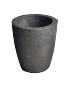 #4 6KG Foundry Clay Graphite Crucibles Cup Furnace Torch Melting Casting Refining Gold Silver Copper Brass Aluminium
