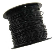 1mm Black Leather Cord - 1 Yard or 36 Inches CR0100BLK-1