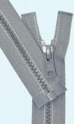 Zipperstop Wholesale YKK® 70cm Vislon Zipper ~ YKK #5 Moulded Plastic ~ Separating - 578 Medium Grey