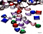 Playscene™ Craft Jewels With Adhesive Back, Pack of 500 Jewels ! ! !