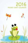 Frog Pocket Diary Calendar