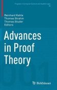 Advances in Proof Theory