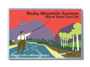 Rocky Mountain Summer Blank Note Card Set