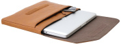 Cool Bananas OldSchool Sleeve Leather Bag for MacBook 13.3 - Brown