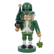 Kurt Adler Wooden Irish Nutcracker, 23cm