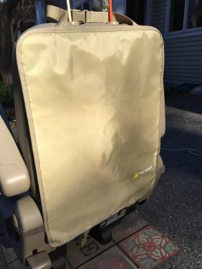 Tike Smart Premium Kick Mats with Invisible Strap (2-Pack) - Light Tan