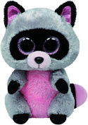 TY Beanie Boo Plush - Grey Raccoon Rocco by Ty