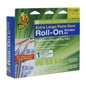 Duck Brand 281069 Roll-On Indoor Extra Large Window/Patio Door Premium Insulating Film Kit, 210cm x 280cm by Duck