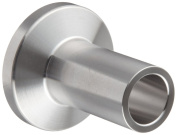 Dixon L14AM7-R50 Stainless Steel 316L Sanitary Fitting, Long Weld Clamp Ferrule, 1.3cm Tube OD