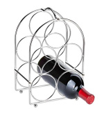 Home Basics 5-bottle Wine Rack