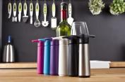 Vacu Vin Wine Saver Pump with 1 x Vacuum Bottle Stopper - Black