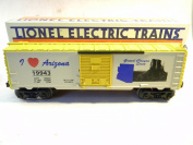 Lionel 6-19943 I Love Arizona boxcar I Heart State series O 027 gauge BOXED 1996