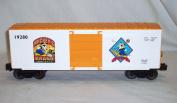 Lionel 6-19280 Mickey's Brand Wheat Hi Cube Boxcar 1996 Disney O gauge Mouse 3rl