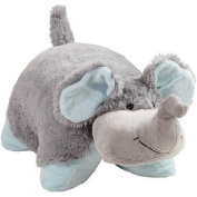 My Pillow Pets Nutty Elephant - Large (Grey with Blue) Children, Kids, Game