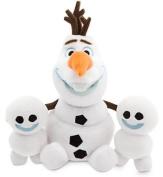 Disney Olaf and Snowgies Plush Bundle - Mini Bean Bag - 20cm - Frozen Fever